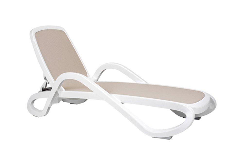 Alfa Sun Lounger white frame€165