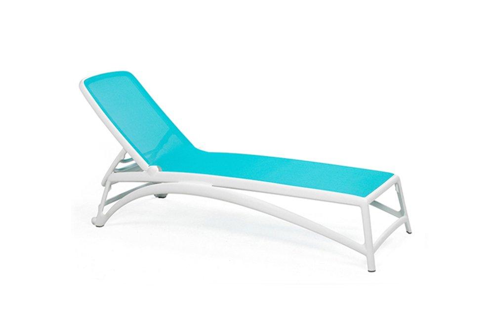 Atlantico sun lounger white and blue €265